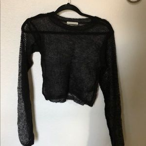Urban Outfitters Black Knit Sweater